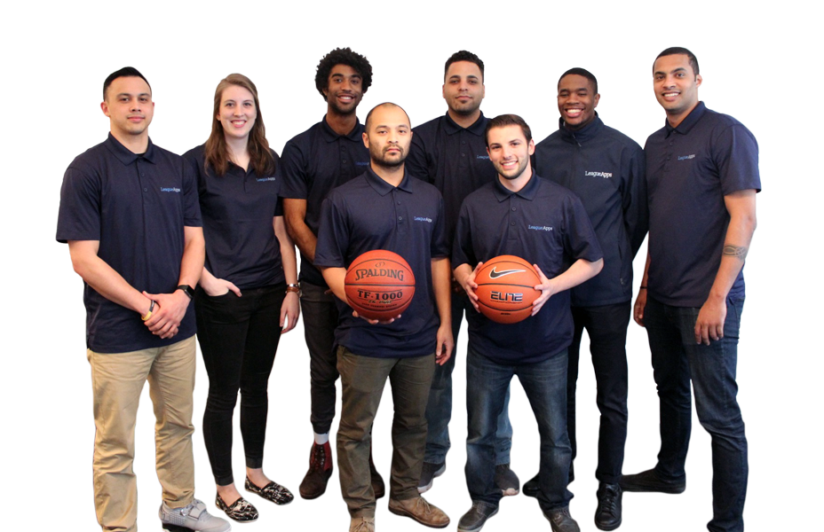 LeagueApps Basketball Team Photo