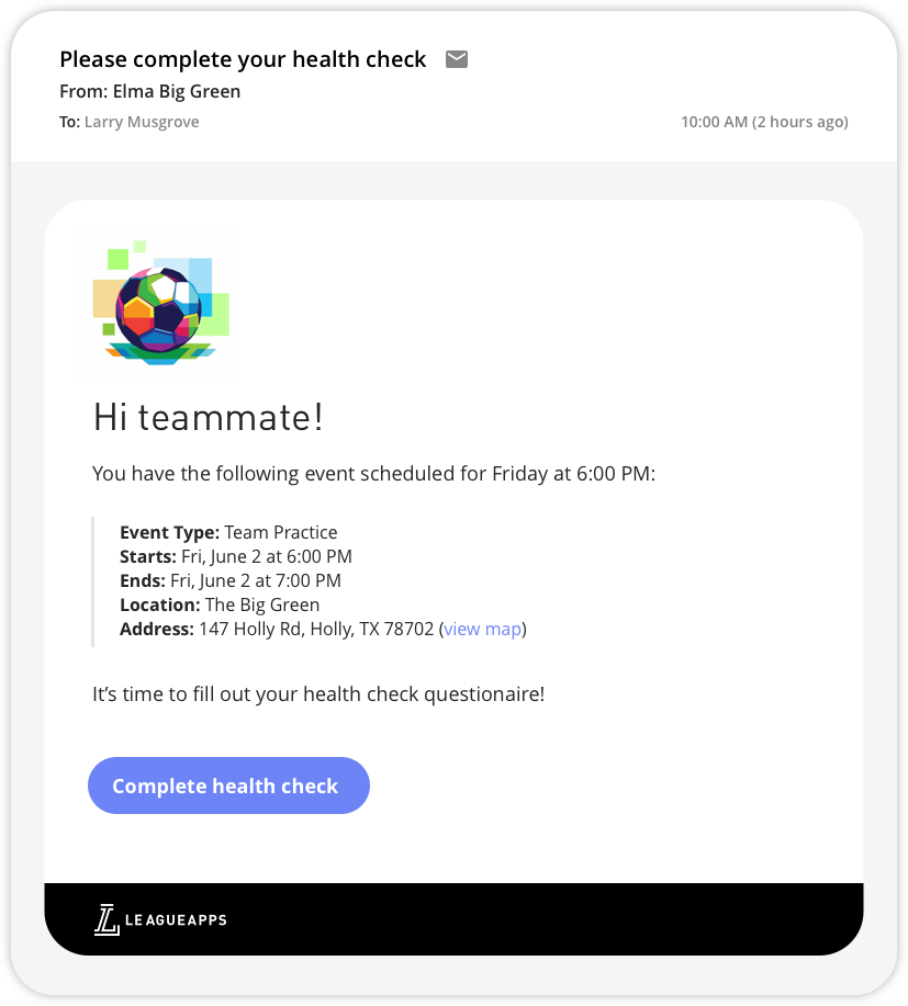 healthcheck_email